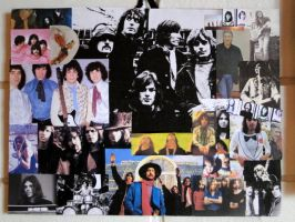 Pink Floyd collage by thepiper13
