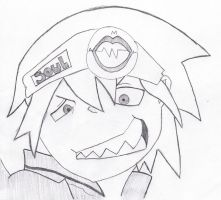 Soul Eater Evans by KandyKitty101