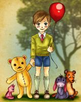 Christopher Robin and Friends by FrauV8