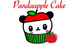 Pandapple Cake by OkashiTi