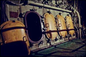 Ship Engine Room by B5160-R