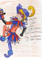 Naruto as Clopin by MousieDoodles