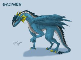 Gadmier - Dragon form by qorter