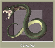Mythical Creatures-Basilisk by BlueEyesBlackTears