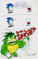 Why Sonic's Eyes are Green by Wonchop