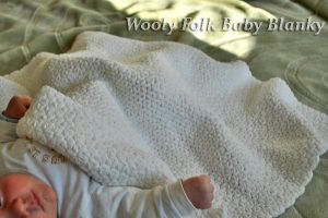 White baby blanky by amarilliss