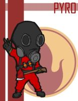 TF2 Chibi Red Pyro by Fir3Ph03n1X