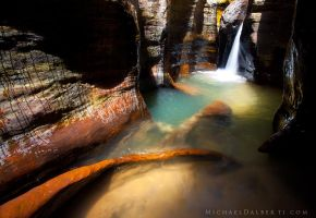 Canyon Oasis by michael-dalberti