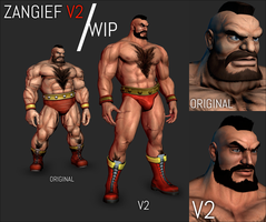 XPS (WIP) - Alternative Zangief V2 by FearEffectInferno