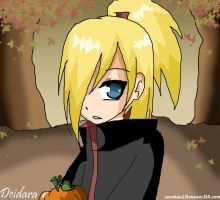 Naruto :: Deidara in fall by sasukee23loveeer