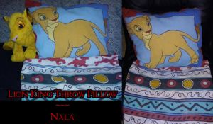 Throw Pillow - Nala by KatWithKnives
