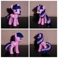 Show-Accurate Mane/Tail Sculpted Princess Twilight by UniqueTreats