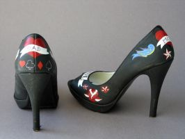 Tattoo Shoes by gaelyn-face