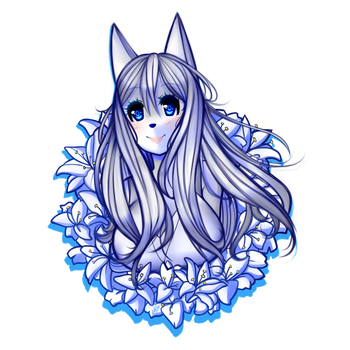 .:ID - Flower Lily 02 [Remake]:. by alexa015
