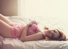sleeping pink beauty. by mrzn89