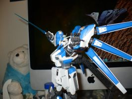 MG Hi Nu Gundam Lunge by CharTeam