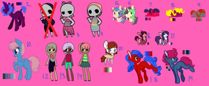 All Unsold Adopts {OTA open 12/19} by yaysies-adopts