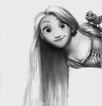 Rapunzel from Disney's Tangled by maeve88