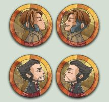 X men Kissing Cameos by oneoftwo