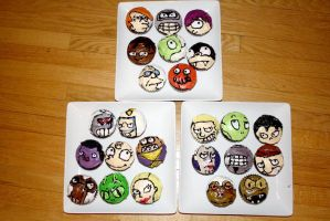 Futurama cupcakes by Alex-Plalex