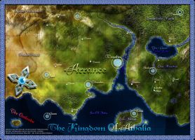 the world of Athalia by daeVArt