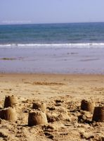 sand castle by Asligg