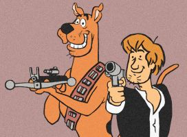 The Original Han and Chewie by DrNealAxe