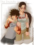 Collab: Inuzuka Siblings by The-Z