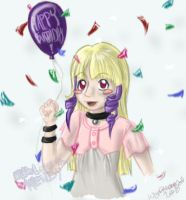 Another birthday for Rosette by Alchemist-Hoshi
