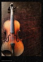 Violin by Boghesz