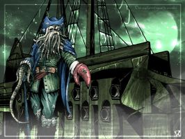 Davy Jones by MachSabre