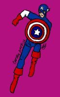 Captain America by RexFangirl