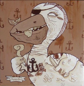 Old Pete the Pelican by mudsley