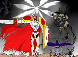 Guardian Knight coloured by reaver570