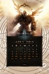 Calendar Mobile #6: April 2015 by Holyknight3000