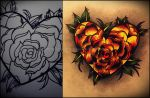Roses of The Heart by GrotesqueDarling13
