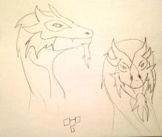 Dragon practice by disturbed66