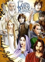 The lord of the rings by DavinArfel