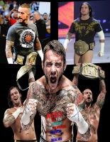 CM Punk Rendered AYB12 Wallpaper by AyBenoit12