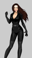 Talia Al Ghul (stealth outfit) by RedSeabrooke50