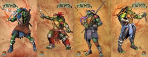 Teenage Mutant Ninja Turtles Prints - All 4 here by Cadre