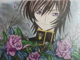 Lelouch Lamperouge by ladylamperouge