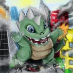 Baby Zilla by avallance