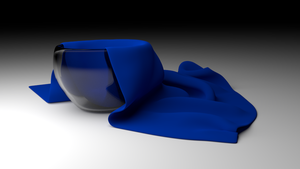 Cloth in bowl by Inventor757