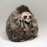 Cat Spirit Furry Creature by RamalamaCreatures