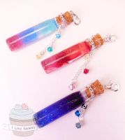 My little pony inspired Princess potions by ilikeshiniesfakery