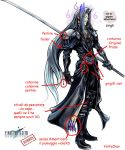 Sephiroth dissidia omg by YattaChan