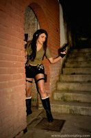 Lara Croft - Come Out by Yukilefay