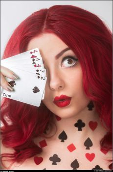 Queen of Hearts by MissMandyMotionless