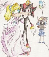 zara and shadow at prom by Maroonz80